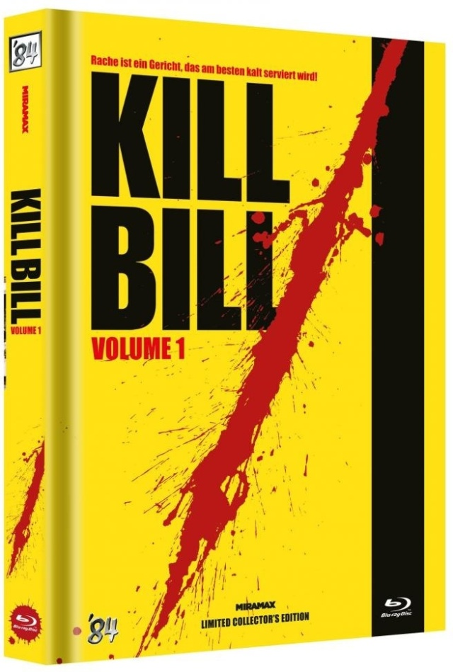 Kill Bill - Vol. 1 (2003) (Cover C, Limited Collector's Edition, Mediabook)