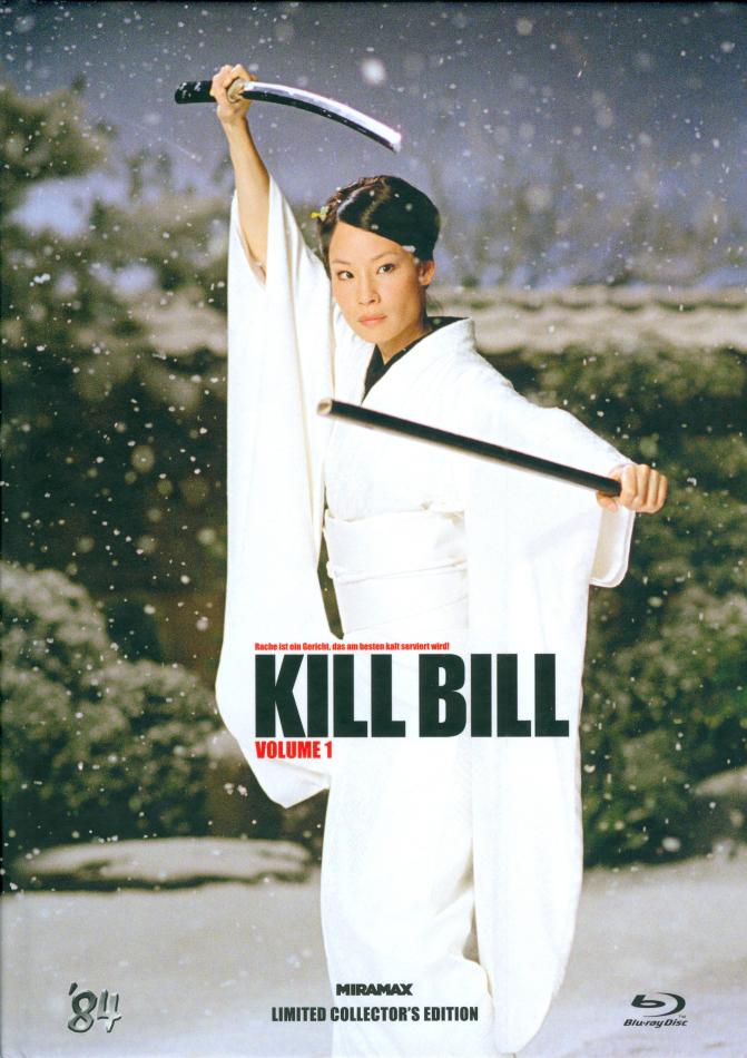 Kill Bill - Vol. 1 (2003) (Cover D, Limited Collector's Edition, Mediabook, Uncut)