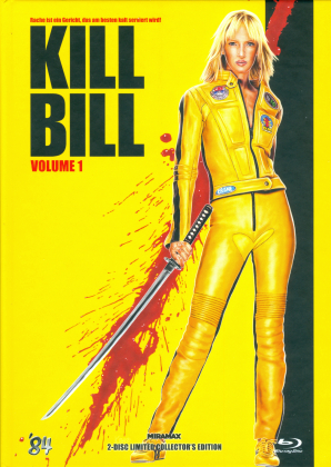 Kill Bill - Vol. 1 (2003) (Cover E, Limited Collector's Edition, Mediabook, Blu-ray + DVD)
