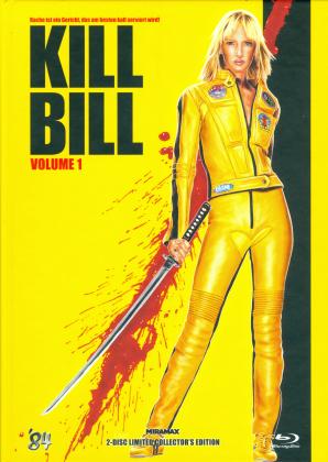 Kill Bill - Vol. 1 (2003) (Cover E, Collector's Edition Limitata, Mediabook, Uncut, Blu-ray + DVD)