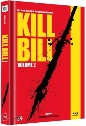 Kill Bill - Vol. 2 (2004) (Cover C, Limited Collector's Edition, Mediabook)