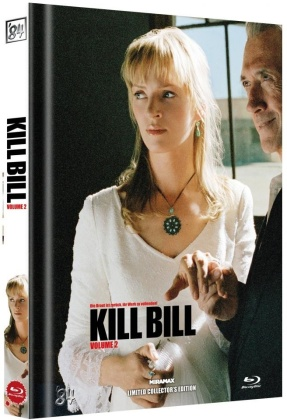 Kill Bill - Vol. 2 (2004) (Cover D, Limited Collector's Edition, Mediabook)