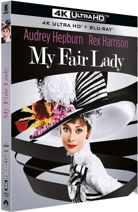My Fair Lady (1964) (Remastered, 4K Ultra HD + Blu-ray)