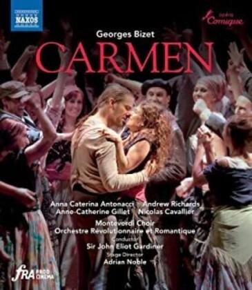 Orchestre Révolutionnaire et Romantique, Sir John Eliot Gardiner, … - Carmen (Naxos)