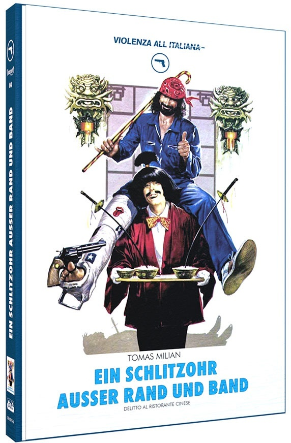 Ein Schlitzohr ausser Rand und Band (1981) (Violenza All'Italiana Collection, Cover A, Limited Edition, Mediabook, Blu-ray + DVD)