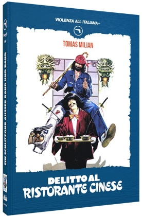 Delitto al ristorante cinese (1981) (Violenza All'Italiana Collection, Cover B, Limited Edition, Mediabook, Blu-ray + DVD)
