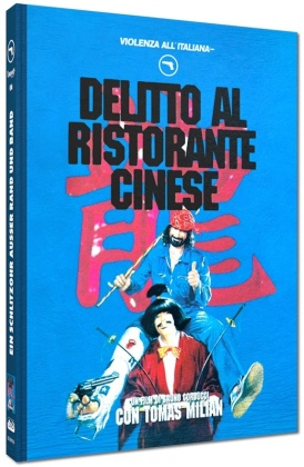 Delitto al ristorante cinese (1981) (Violenza All'Italiana Collection, Cover D, Limited Edition, Mediabook, Blu-ray + DVD)