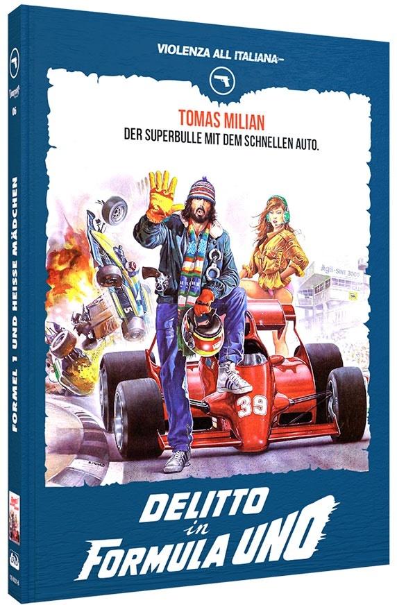 Delitto in Formula Uno (1984) (Violenza All'Italiana Collection, Cover B, Limited Edition, Mediabook, Blu-ray + DVD)