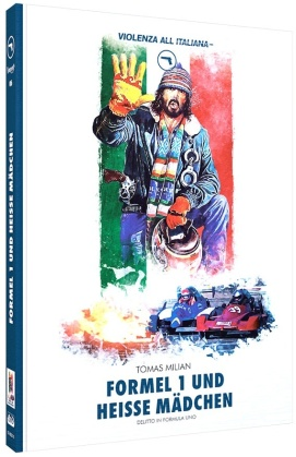 Formel 1 und heisse Mädchen (1984) (Violenza All'Italiana Collection, Cover C, Limited Edition, Mediabook, Blu-ray + DVD)
