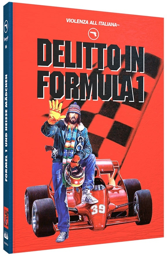 Delitto in Formula 1 (1984) (Violenza All'Italiana Collection, Cover D, Limited Edition, Mediabook, Blu-ray + DVD)