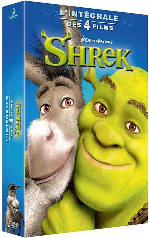 Shrek 1-4 - L'intégrale des 4 Films (5 DVD)