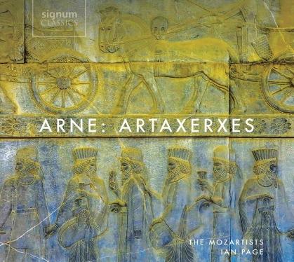 Mozartists, Thomas Arne, Ian Page, Elizabeth Watts, Caitlin Hulcup, … - Artaxerxes