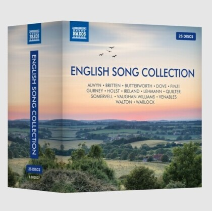 Naxos English Song Collection (2 CDs)