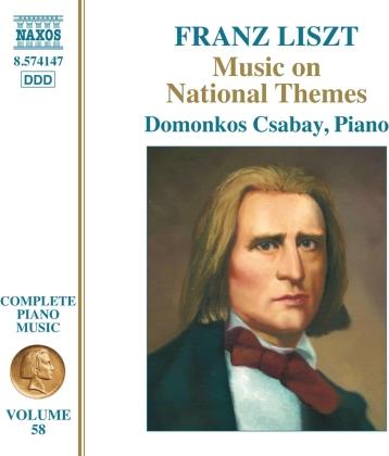 Domonkos Csabay & Franz Liszt (1811-1886) - Music On National Themes