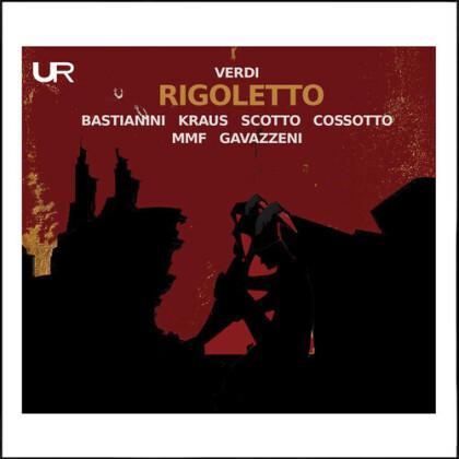 Gianandrea Gavazzeni & Giuseppe Verdi (1813-1901) - Rigoletto (Urania Records)