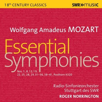 Roger Norrington & Wolfgang Amadeus Mozart (1756-1791) - Essential Symphonies