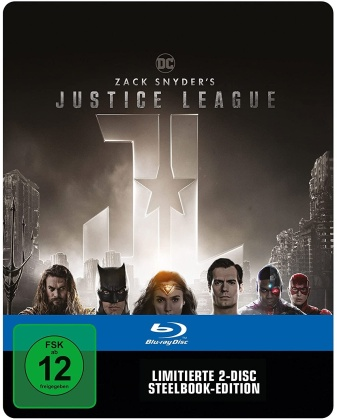 Zack Snyder's Justice League (2021) (Limited Edition, Steelbook, 2 Blu-rays)
