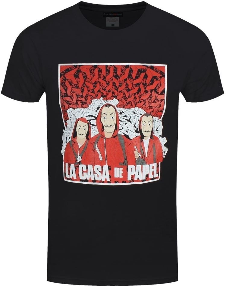 La Casa de Papel: Group Shot - Men's T-Shirt - Grösse M