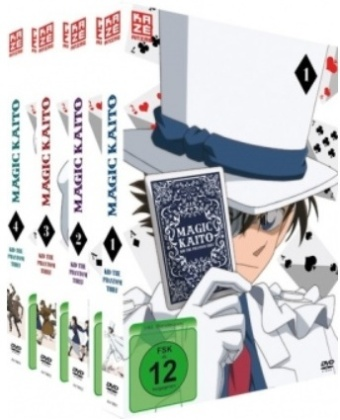 Magic Kaito: Kid the Phantom Thief (Gesamtausgabe, Bundle, 4 DVDs)
