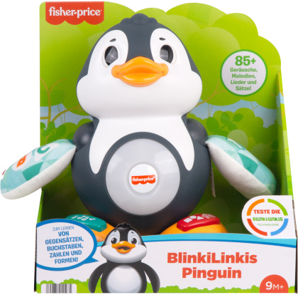 BlinkiLinkis Pinguin, d - ca. 27x25x14 cm, Sound,