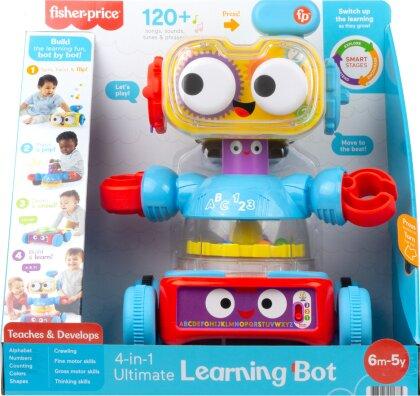 Linus 4-in-1 Lernroboter - ca.24x30x16 cm, Aktivitäten,