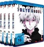 Tokyo Ghoul - Staffel 1 (Gesamtausgabe, Bundle, 4 Blu-rays)