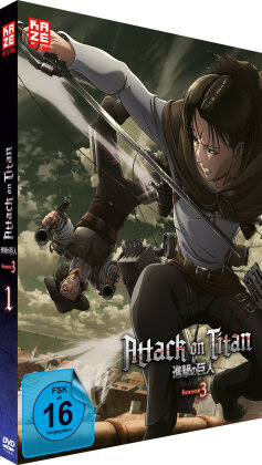 Attack on Titan - Staffel 3 - Vol. 1