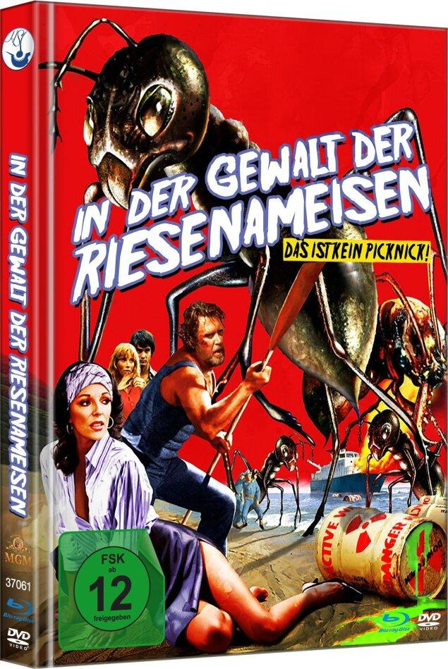 In der Gewalt der Riesenameisen (1977) (Limited Edition, Mediabook, Blu-ray + DVD)