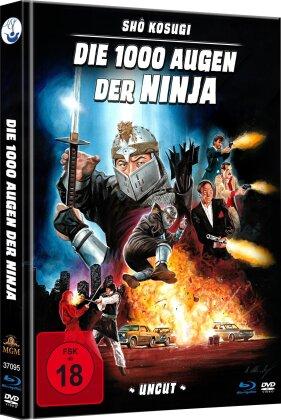 Die 1000 Augen der Ninja (1985) (Limited Edition, Mediabook, Uncut, Blu-ray + DVD)