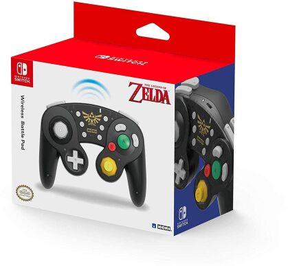 Hori Switch Wireless Battle Pad (Zelda)