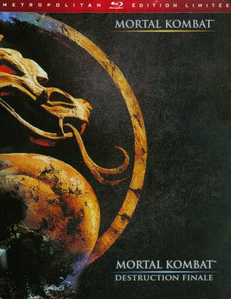 Mortal Kombat / Mortal Kombat 2 - Annihilation (Steelbook, 2 Blu-rays)