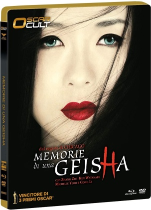 Memorie di una Geisha (2005) (Oscar Cult, Limited Numbered Edition, Blu-ray + DVD)