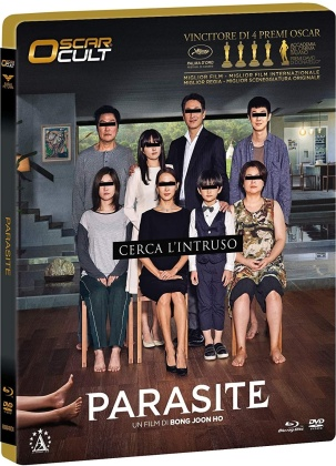 Parasite (2019) (Oscar Cult, Limited Numbered Edition, Blu-ray + DVD)