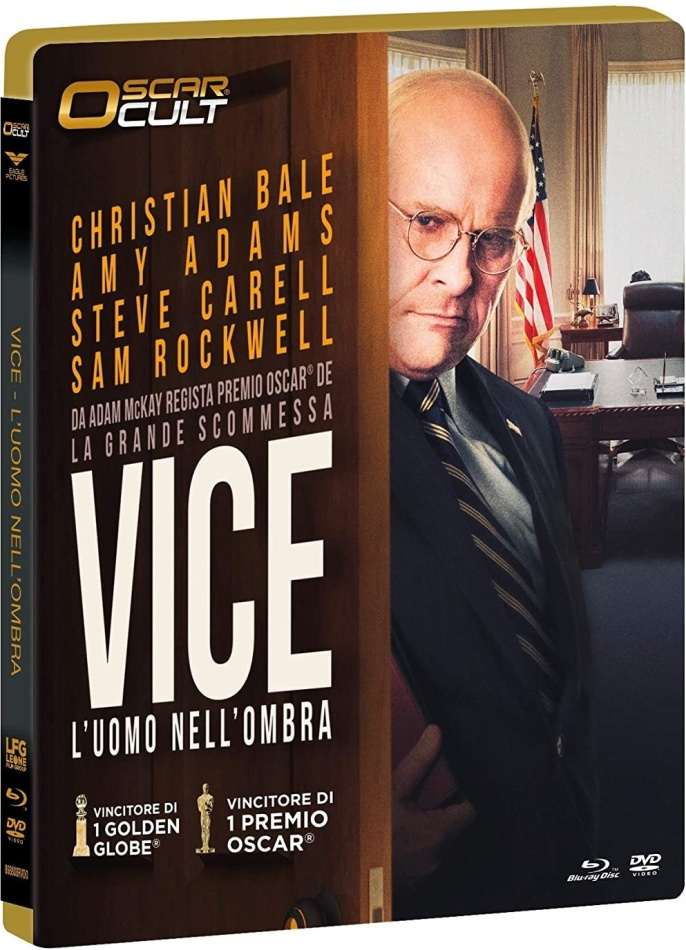 Vice - L'uomo nell'ombra (2018) (Oscar Cult, Limited Numbered Edition, Blu-ray + DVD)