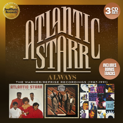 Atlantic Starr - Always: The Warner-Reprise Recordings (1987-1991) (3 CDs)