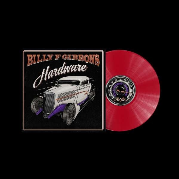 Billy F Gibbons (ZZ Top) - Hardware (Strictly Limited, Indies Only, Red Vinyl, LP)