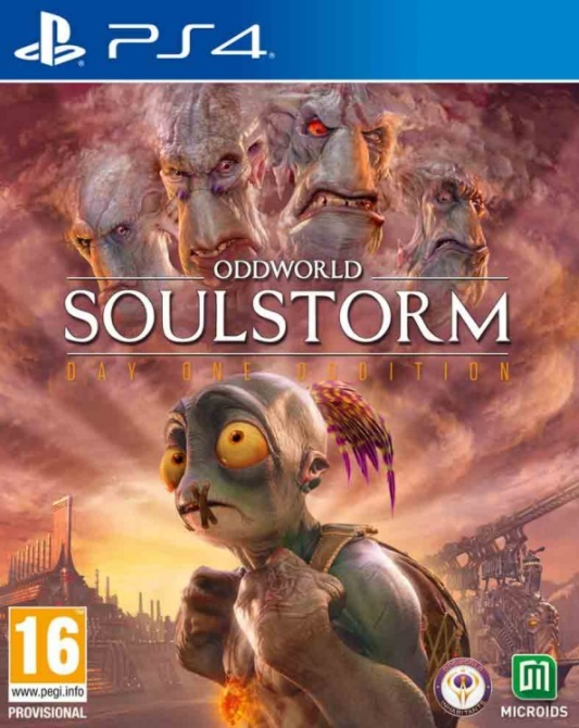 Oddworld - Soulstorm (Steelbook Edition)
