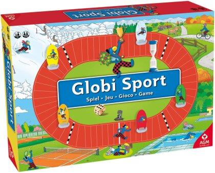 Globi Spiel Sport