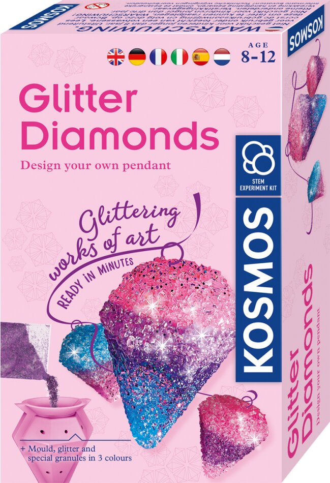 Glitzer-Diamanten MULTI