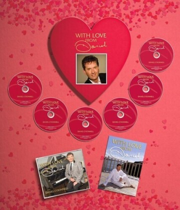 Daniel O'Donnell - With Love From Daniel (Boxset, Autographed Edition, 5 CDs + DVD)