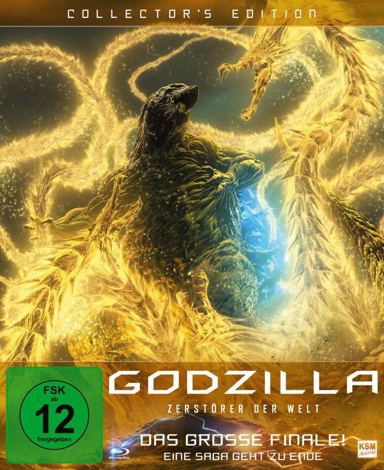 Godzilla - Zerstörer der Welt (2018) (Digipack, Collector's Edition)