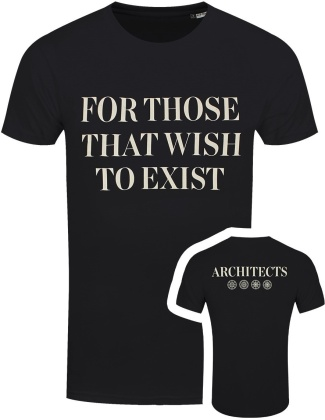 Architects: For Those That Wish to Exist - Men's Organic Fairtrade T-Shirt