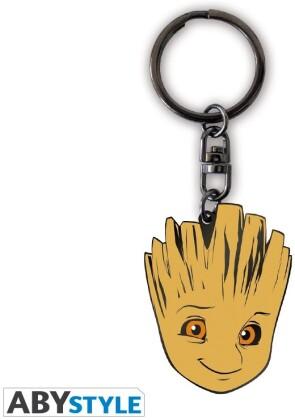 Porte-Clef Métal - Groot - Marvel