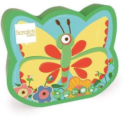 Würfelsuchspiel Schmetterling