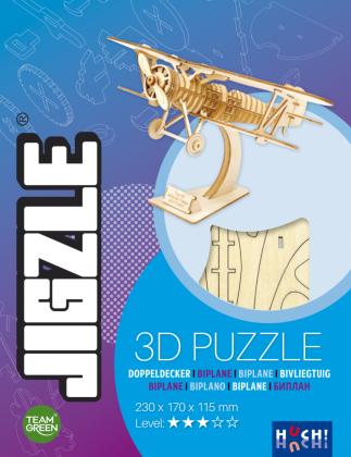 JIGZLE - Doppeldecker (Puzzle)