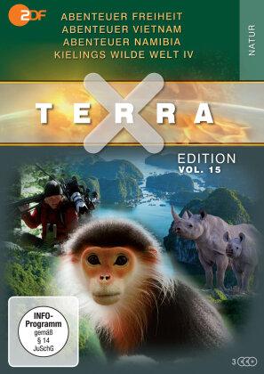 Terra X - Vol. 15 - Abenteuer Freiheit / Abenteuer Vietnam / Abenteuer Namibia / Kielings wilde Welt Staffel 4 (2 DVDs)