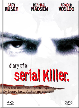 Diary of a Serial Killer (1998) (Cover A, Limited Edition, Mediabook, Blu-ray + DVD)