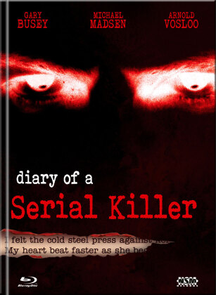 Diary of a Serial Killer (1998) (Cover B, Limited Edition, Mediabook, Blu-ray + DVD)