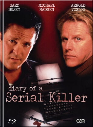 Diary of a Serial Killer (1998) (Cover C, Limited Edition, Mediabook, Blu-ray + DVD)