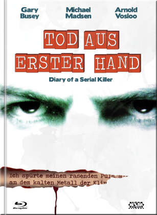 Diary of a Serial Killer - Tod aus erster Hand (1998) (Cover D, Limited Edition, Mediabook, Blu-ray + DVD)
